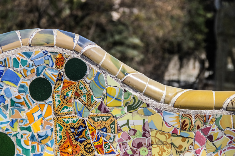 Gaudi, Miro and Tapiès